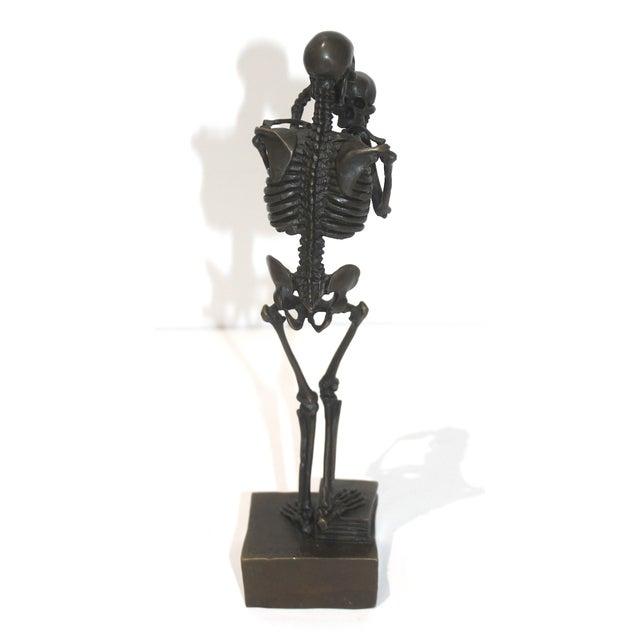 Vintage Carl Kauba Style Bronze Figure For Sale - Image 4 of 13