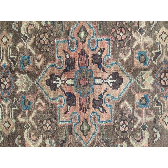 Vintage Hamadan Persian Rug - 1′11″ × 2′11″ - Image 6 of 9