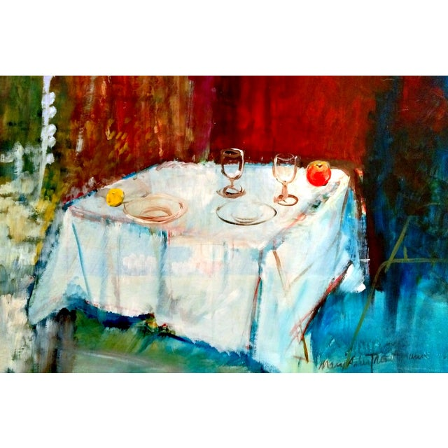 Mary Asher-Trautmann Tabletop Still Life Oil Painting - Image 2 of 8