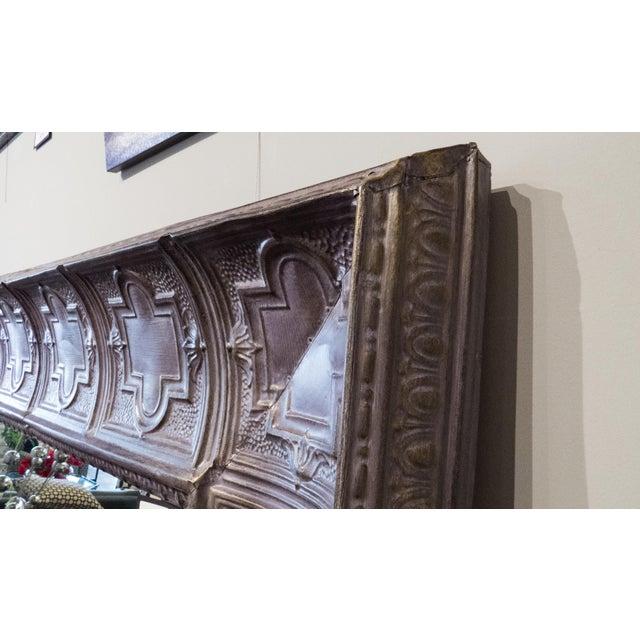 Custom Made Purple Ceiling Tiled Mirror 6' X 6' - Image 3 of 3