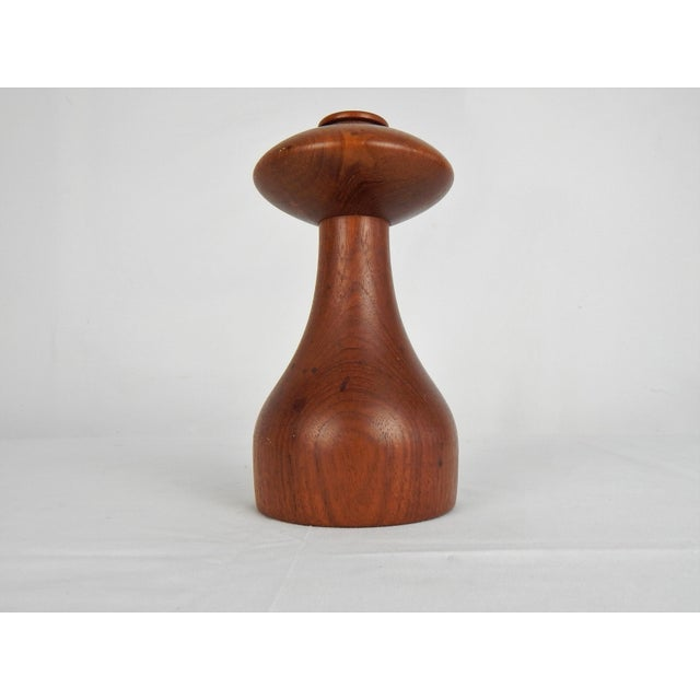 Mid-Century Modern Jens Quistgaard for Dansk Peppermill For Sale - Image 3 of 10