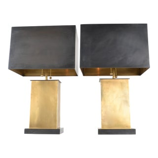 "Pair of Thomas O'Brien for Visual Comfort ""Dixon"" Lamps For Sale"