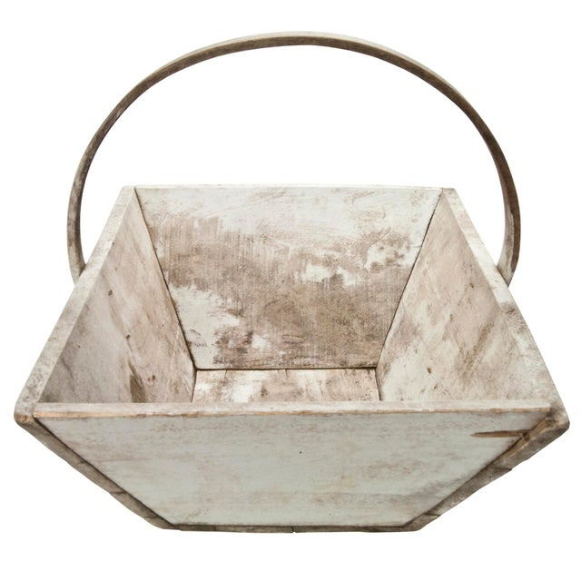 Vintage French Wood Garden Trug - Image 3 of 6