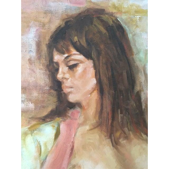 Alfred Simonpietri Nude Female Oil Painting - Image 2 of 5