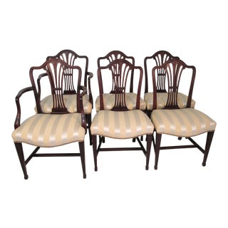 Irving, Casson & Davenport Dining Chairs - Set of 6 For Sale