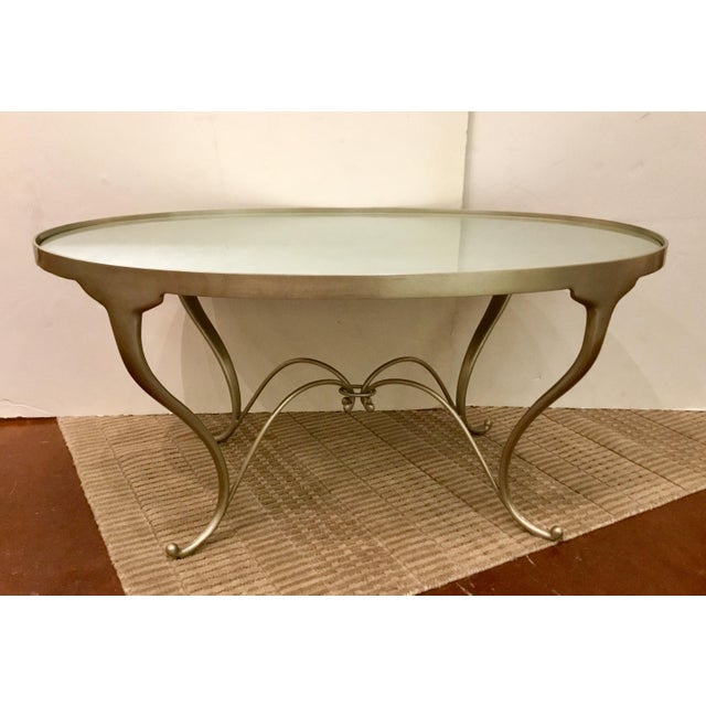 Modern Caracole in the Middle Cocktail Table For Sale - Image 3 of 8