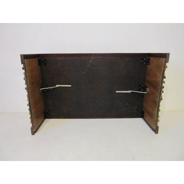 Percival Lafer Brazilian Rosewood Folding Coffee Table For Sale In Cincinnati - Image 6 of 7