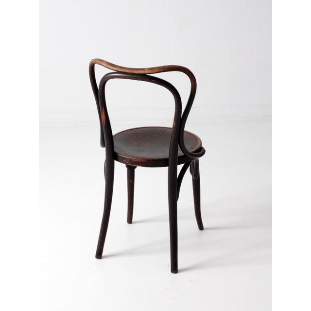 Antique Jacob & Josef Kohn Bentwood Chair For Sale - Image 6 of 12