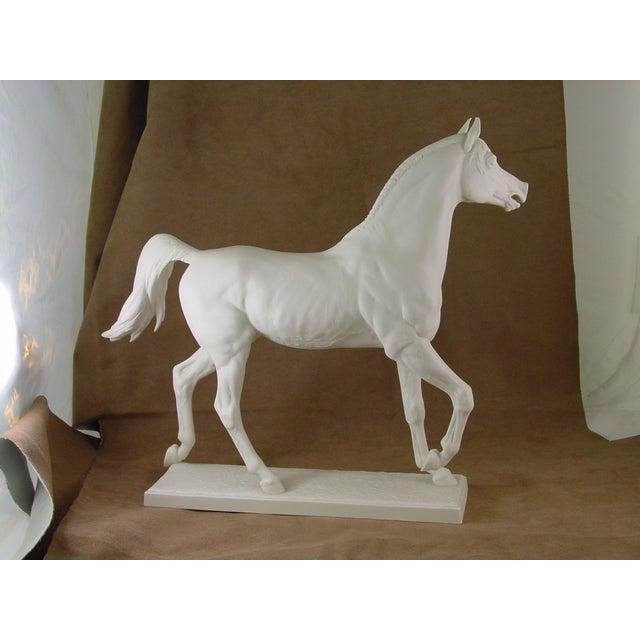 1960s Vintage Arabian Horse Sculpture For Sale In Monterey, CA - Image 6 of 13