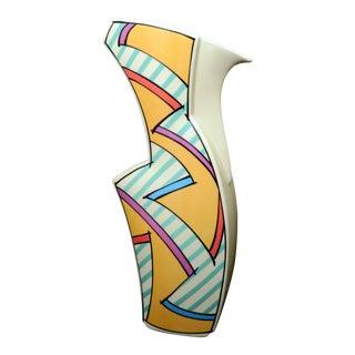 """Dorothy Hafner for Rosenthal """"Flash"""" Post Modern Carafe / Vase For Sale"""