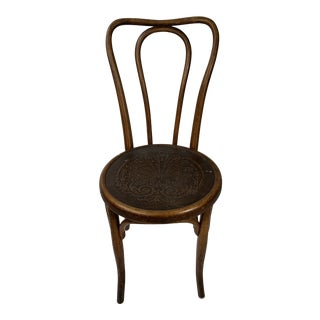 1900s Antique Fischel Side Chair For Sale