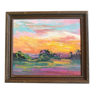 Juan Guzman, Ojai California Landscape & Sunset Painting For Sale