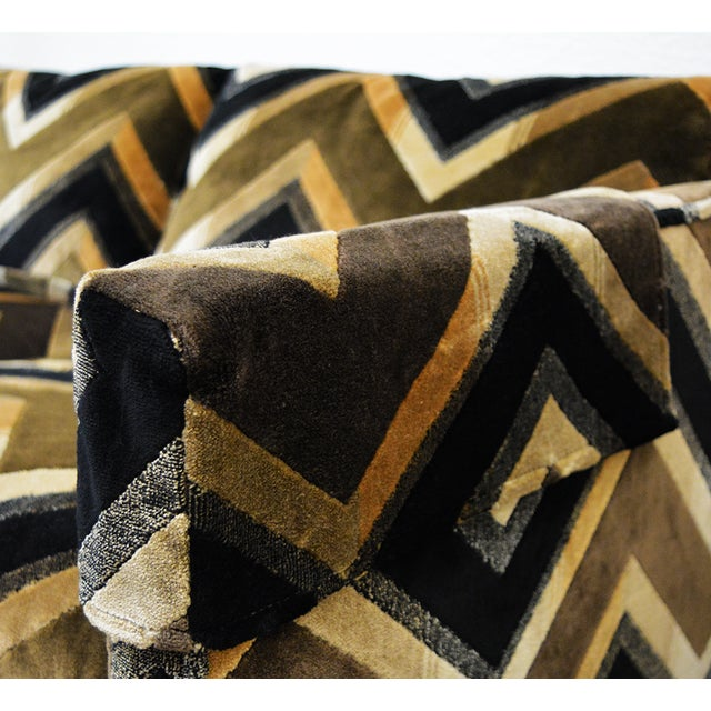 Mid Century Milo Baughman Style Case Sofa For Sale - Image 11 of 13