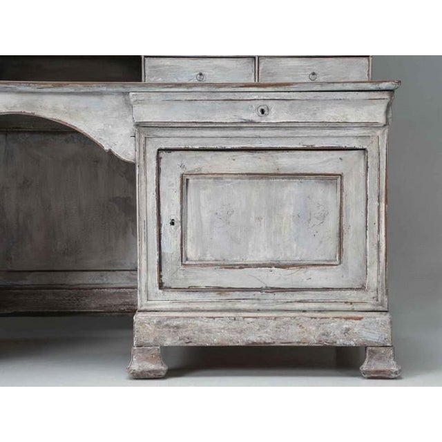 French Antique French Bookcase and Desk For Sale - Image 3 of 13