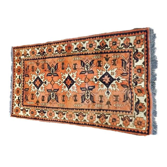 "Turkaman Persian Handmade Rug - 2'6"" X 4'8"" - Image 1 of 9"