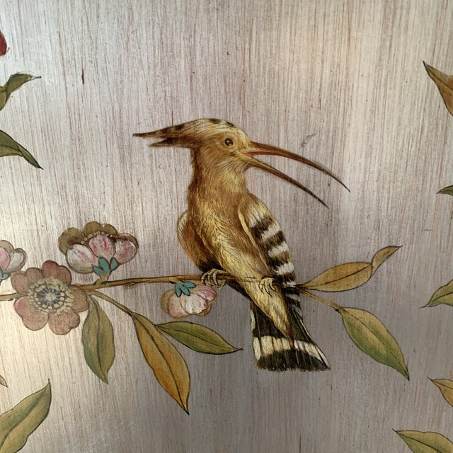 Hand Painted Chinoiserie Wall Panels- a Pair For Sale - Image 4 of 13
