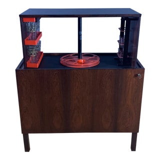 Kai Kristiansen Rosewood Hydraulic Bar Cabinet, 1968 For Sale