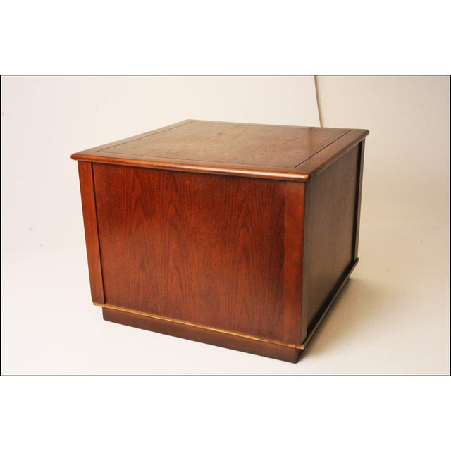 Harvey Probber Style Mid-Century Modern Square Side Table - Image 6 of 11