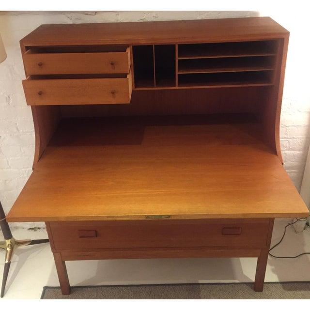 1960s Mid Century Borge Mogensen Desk For Sale - Image 5 of 6