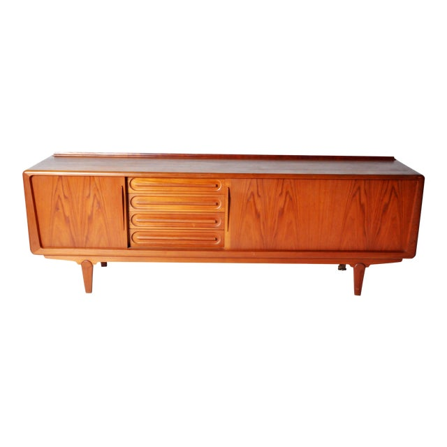 Console with Four Drawers Attributed to Vamo Sonderborg For Sale
