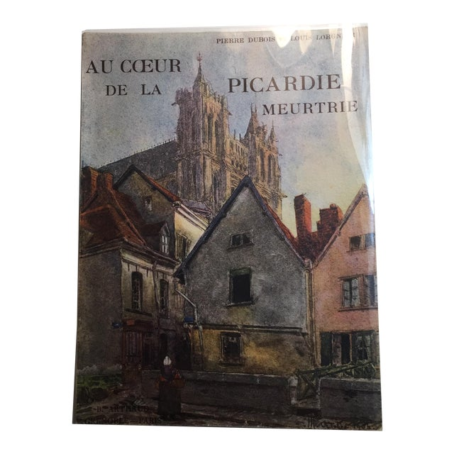 1943 Au Coeur De La Picardie Meurtrie Scarce Book For Sale