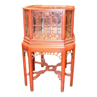 English 19th Century Chinoiserie Fish Bowl or Aquarium For Sale
