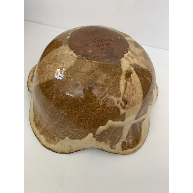 Glazed Terra-Cotta Bowl For Sale - Image 4 of 11