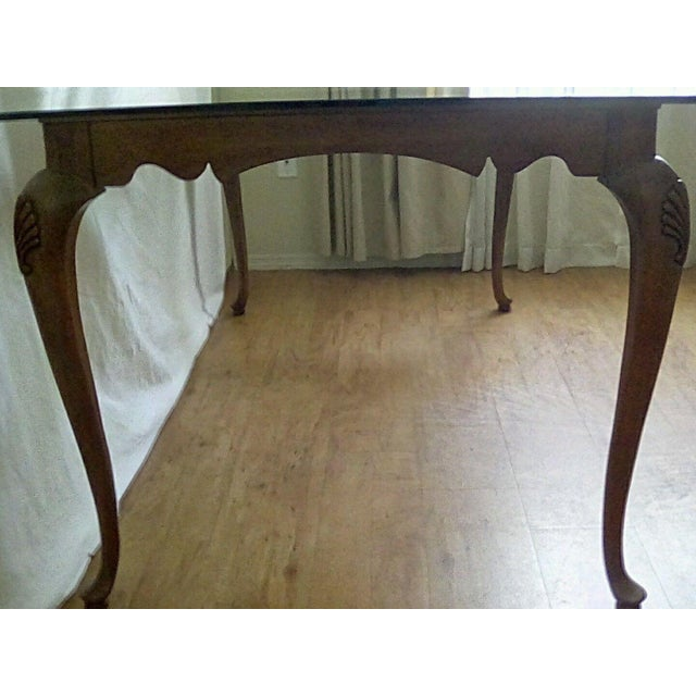 Brown 20th Century French Country Dining Table For Sale - Image 8 of 11