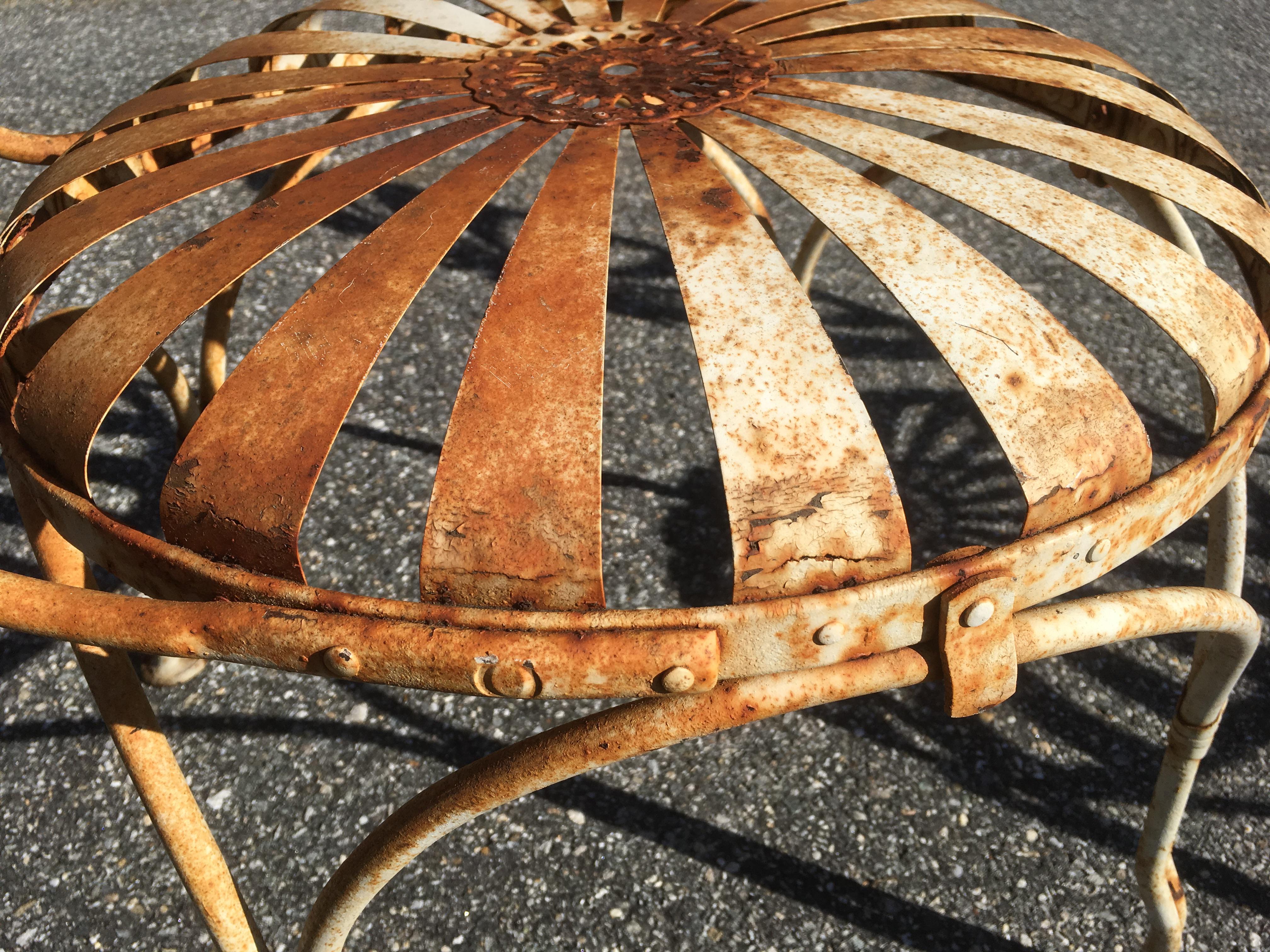 deco garden furniture. 1930\u0027s French Art Deco Francois Carre Sunburst Iron Chairs \u0026 Patio Table  For Sale - Image Deco Garden Furniture