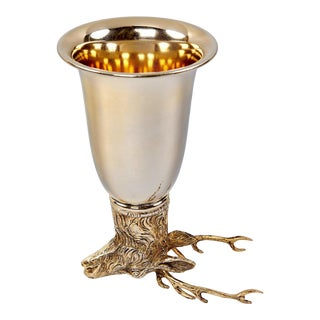 """""""Stag"""" Stirrup Cup by Gucci For Sale"""