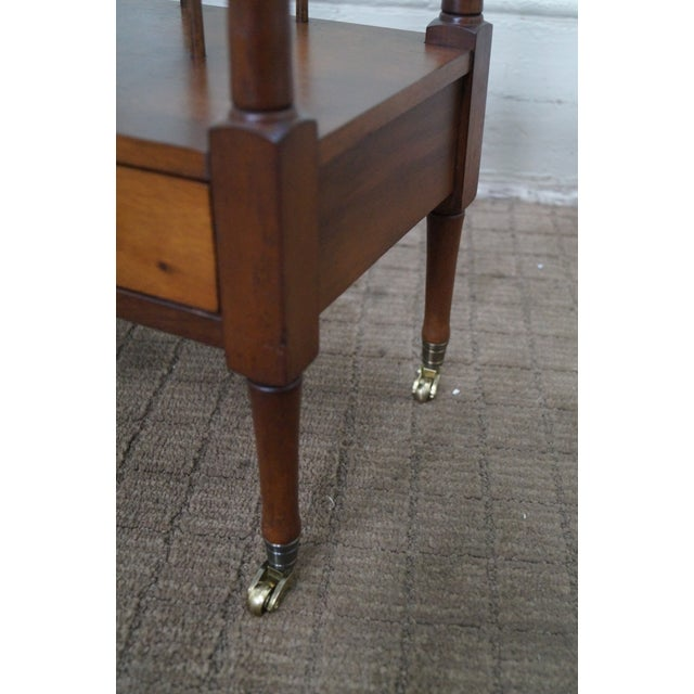 Schott Furniture Solid Mahogany Magazine Stand - Image 8 of 10