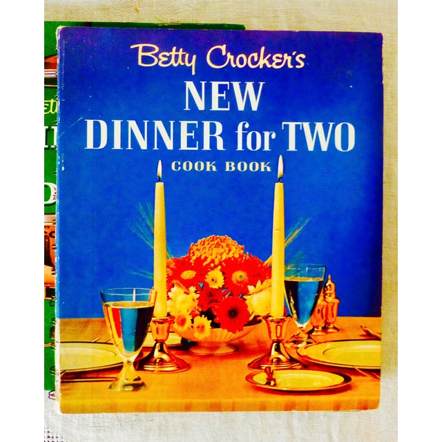 Eye candy - or at least, Eye-Cooking with this collection of three vintage spiral-bound Betty Crocker cookbooks. They are...