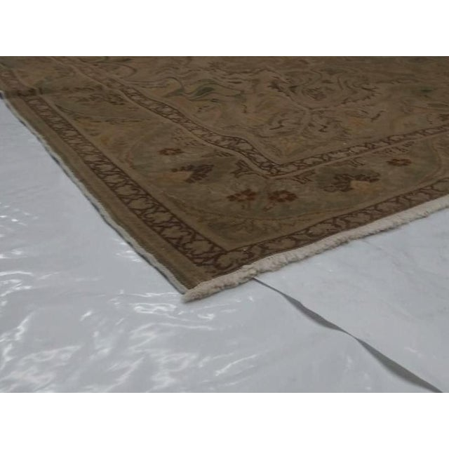 1950s Vintage Persian Tabriz Rug - 6′6″ × 9′10″ For Sale In New York - Image 6 of 10