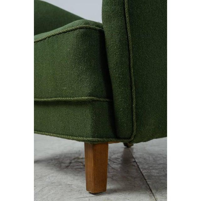 Mogens Lassen Style Lounge Chair, Denmark, 1940s - Image 9 of 10