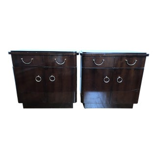 French Art Deco Nightstands- a Pair