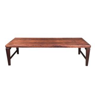 Vintage J.L. Moller Danish Rosewood Coffee Table