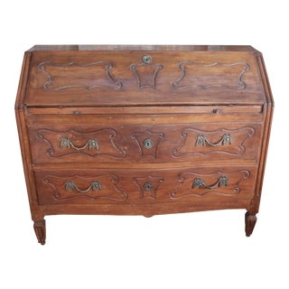 French Louis XVI Drop Leaf Desk For Sale