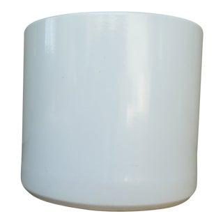 Gainey Ac12 Pot Semi-Gloss White Planter For Sale