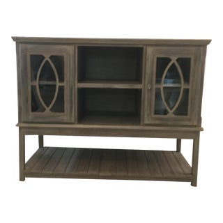 Tuscan Style Console Cabinet