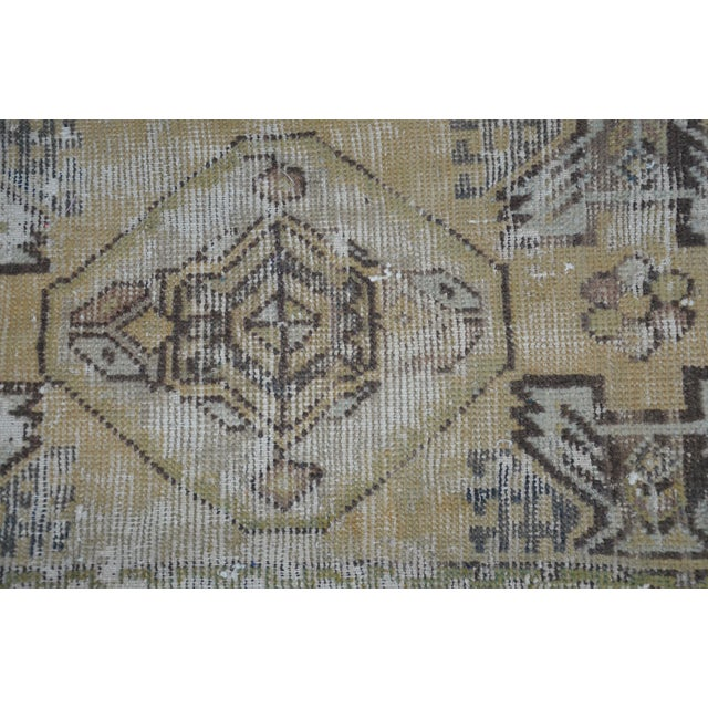 Islamic Turkish Decorative Rug - 1′6″ × 3′1″ For Sale - Image 3 of 6