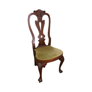 Kittinger Cw 146 Mahogany Queen Anne Side Chair For Sale