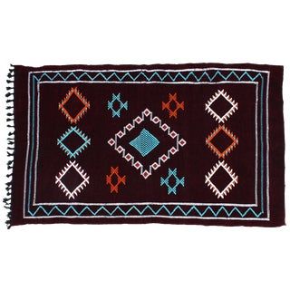 Moroccan Rug- 6'7'' X 3'8'' For Sale