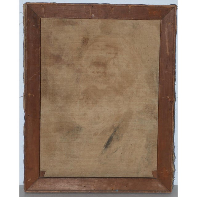 Charles Moss (1860-1901), 19th Century Oil Portrait C.1897 For Sale - Image 4 of 5