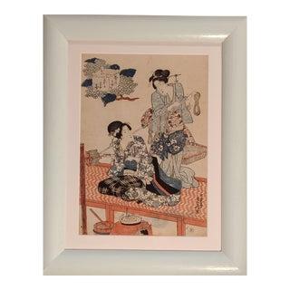 Early 19th Century Antique Utagawa Sadafusa Edo Period Japanese Print For Sale