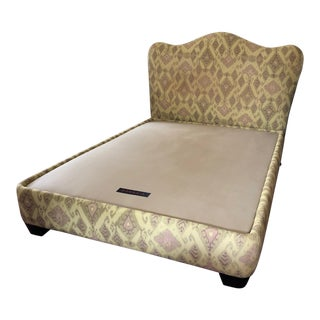 Donghia Queen Upholstered Platform Bed For Sale