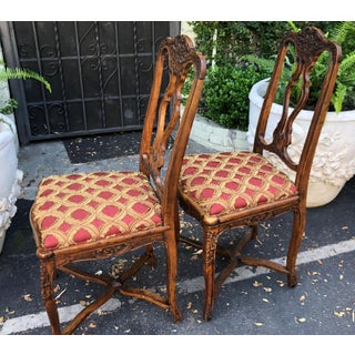 Pair of Antique French Provincial Side Chairs Preview