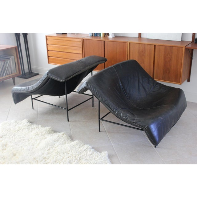 Vintage Gerard Van Den Berg Butterfly Chairs- a Pair For Sale In Tampa - Image 6 of 10