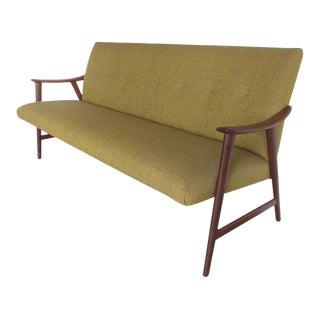 Danish Modern Adolf Relling Dokka Møbler Teak Sofa For Sale