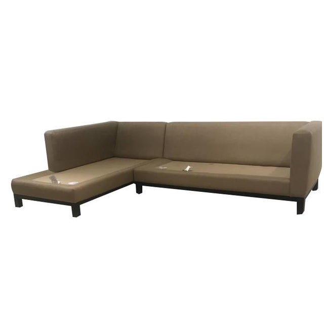 Crate & Barrel Sectional Sofa For Sale In Baltimore - Image 6 of 11