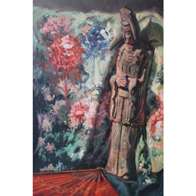 Caddell Japanese Scene Painting For Sale - Image 10 of 11